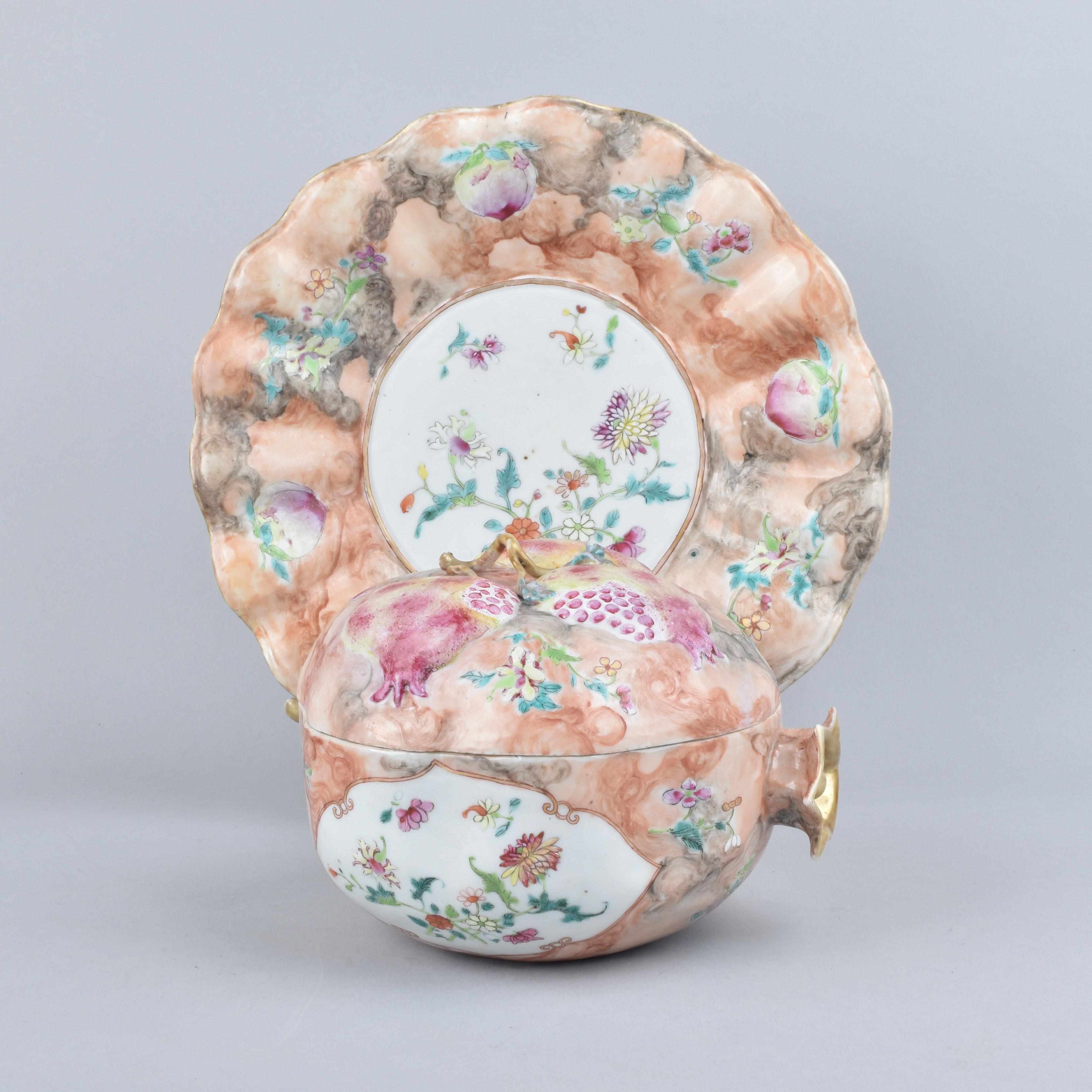 Porcelaine Qianlong (1735-1795), circa 1755, Chine
